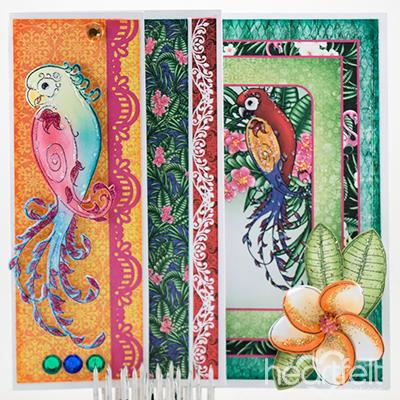 Parrot Flip Fold
