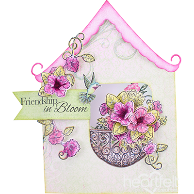 Petunia Cottage Card
