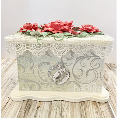 Classic Bridal Trinket Box