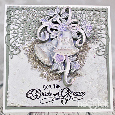 Gray And Lavender Wedding Bells
