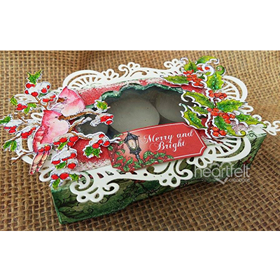 Festive Candle Box