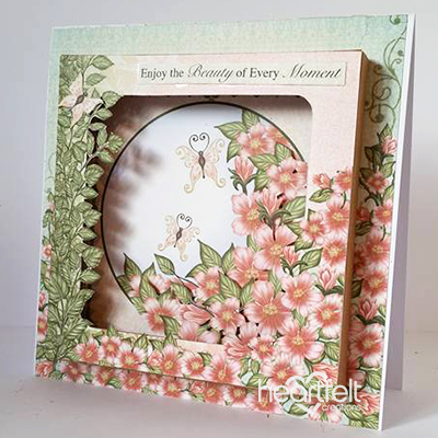 Floral Moments Shadow Box Card