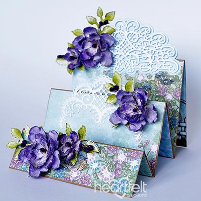 Purple Petunias Foldout