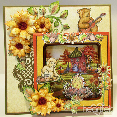 Beary Fun Shadow Box