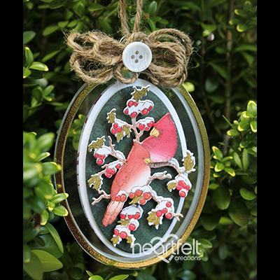 Festival Cardinal Ornament