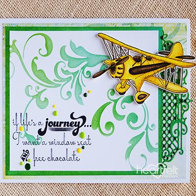 Heartfelt Creations Young At Heart Dies HCD1-7158 Airplane Trucks
