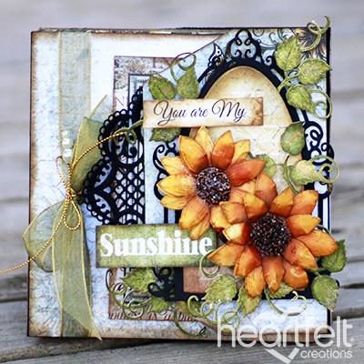 Sunflower Layered Album