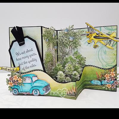 Woodsy Excursion Z-Fold Card