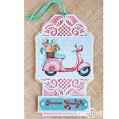 Decorative Scooter Tag