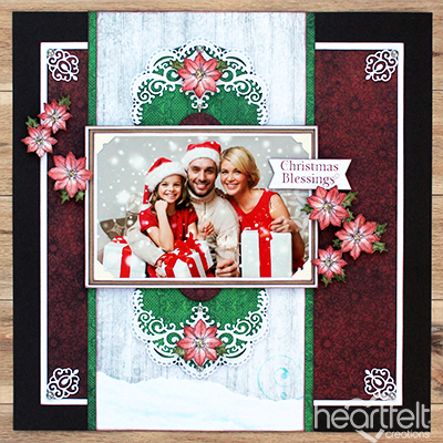 Christmas Blessings Layout