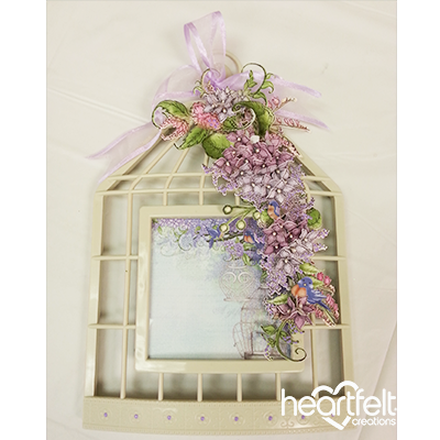 Lovely Lilac Birdcage
