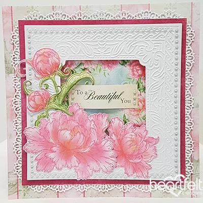 Sweet Blossoming Peony