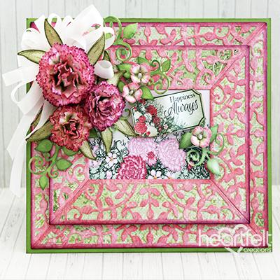 Fabulously Framed Carnations