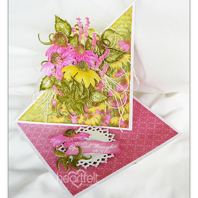 Special Coneflower Easel