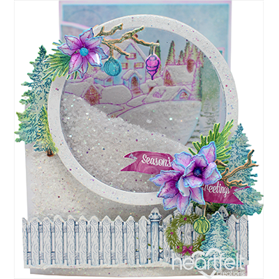 Snowy Retreat Foldout Card