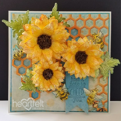 Cheery Sunflowers
