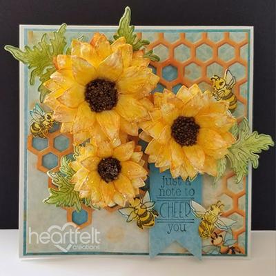 Cheery Sunflowers