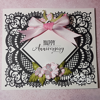Anniversary Lace Card