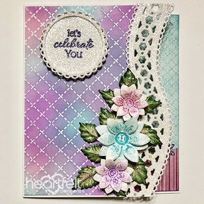 Stitched, Bordered and Glittered