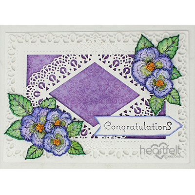 Congratulating Pansies