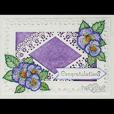 Congratulating Pansies