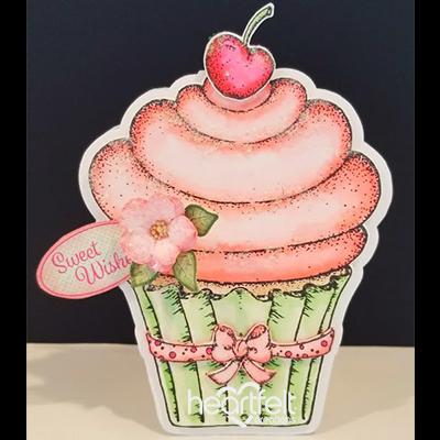 Decadent Sweet Cupcake