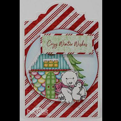 Candy Cane Polar Bear
