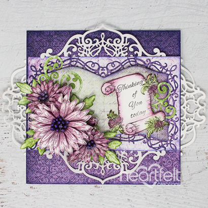 Purple Swirly Booklet