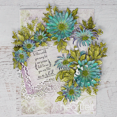 Worldly Floral Booklet