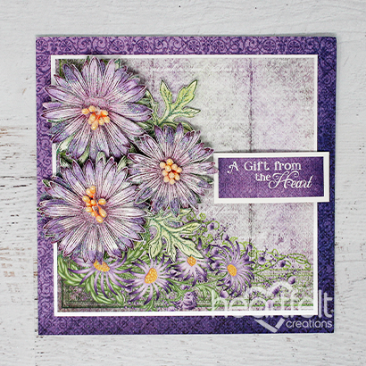 Heartfelt Purple Asters