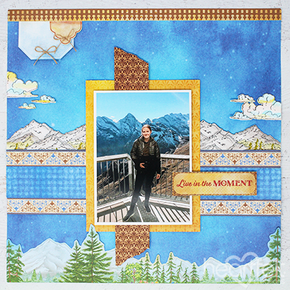 Mountaintop Moments Layout