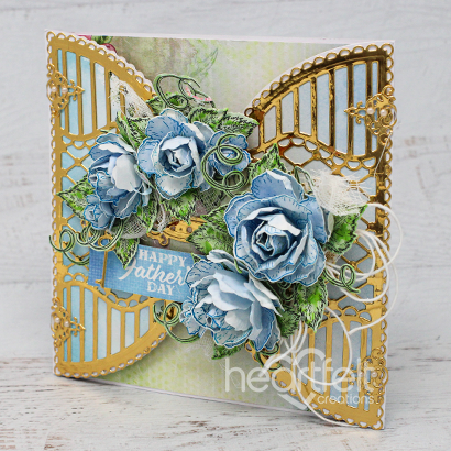 Shuttered Blue Roses