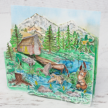Wilderness Foldout Card