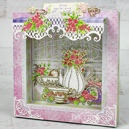Tea for Two Shadow Box