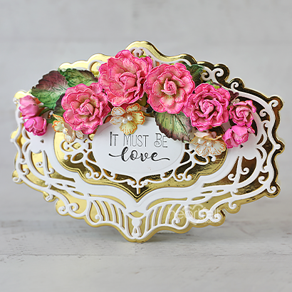 Lovely Framed Roses