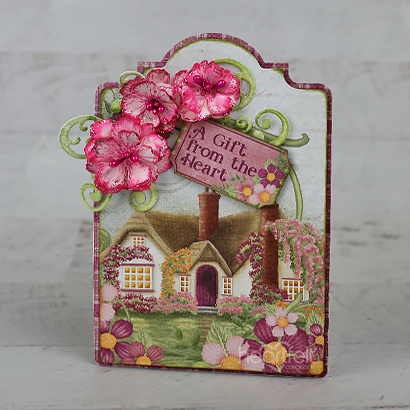 Rose Cottage Gift Tag
