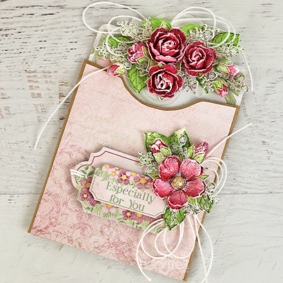 Wild Rose Pocket Card