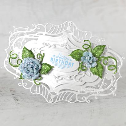 Classic Rose Birthday Wishes