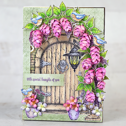 Welcoming Wisteria