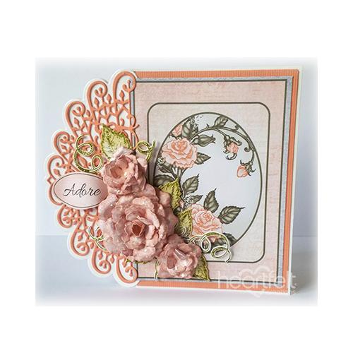 Adorable Peach Roses