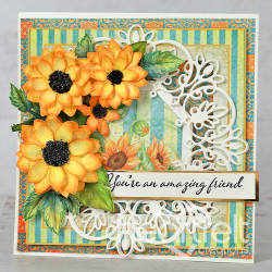 Amazing Centerpiece Sunflowers