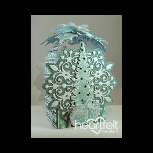 Aqua Snowflake Gift Box
