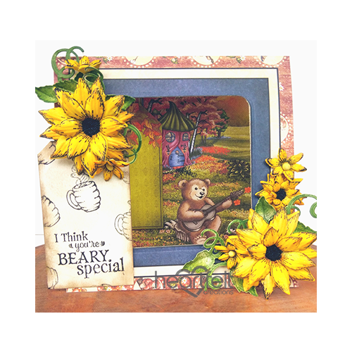 Beary Special Sunflowers