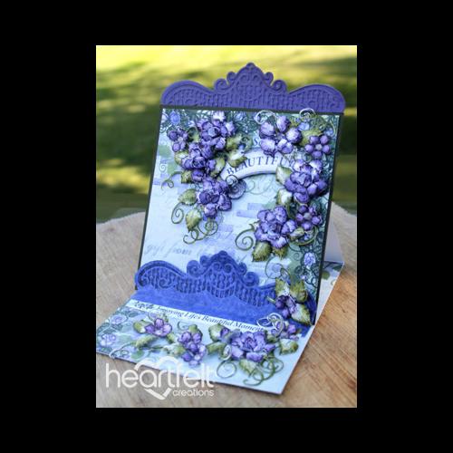 Beautiful Lavender Rose Easel Card