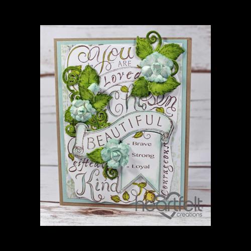 Beautiful Soft Aqua Rose Background