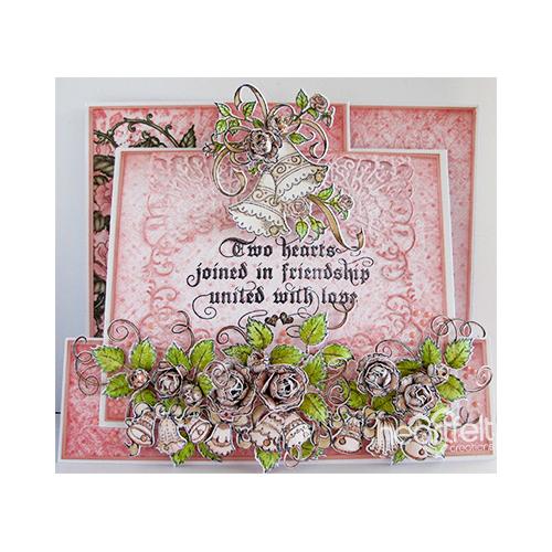 Bells And Roses Slider Card