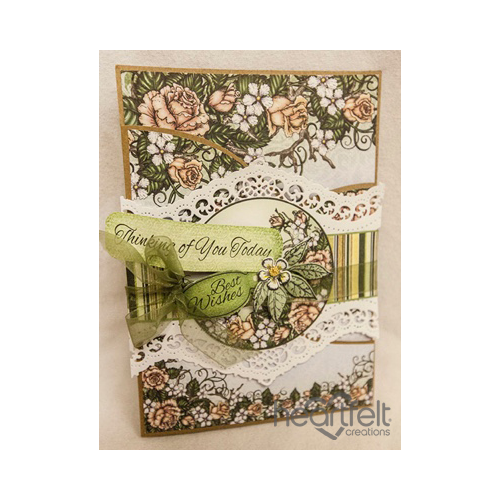 Berry Blossom Foldout With Wrap