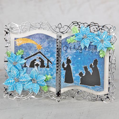 Bible Nativity Card