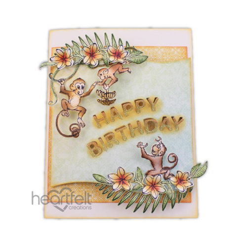 Birthday Monkey Trio