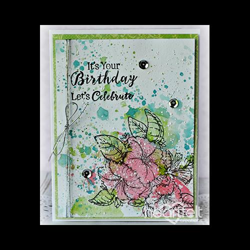 Birthday Petunia Splash